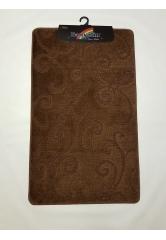 Ковер Завитушки dark brown (1)