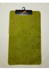 Ковер завитушки green (1)