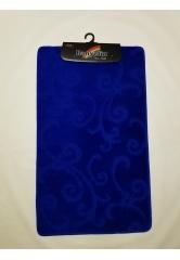 Ковер завитушки sax blue (1)