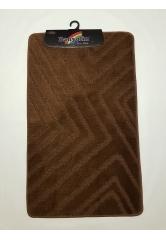Ковер треугольники dark brown (1)